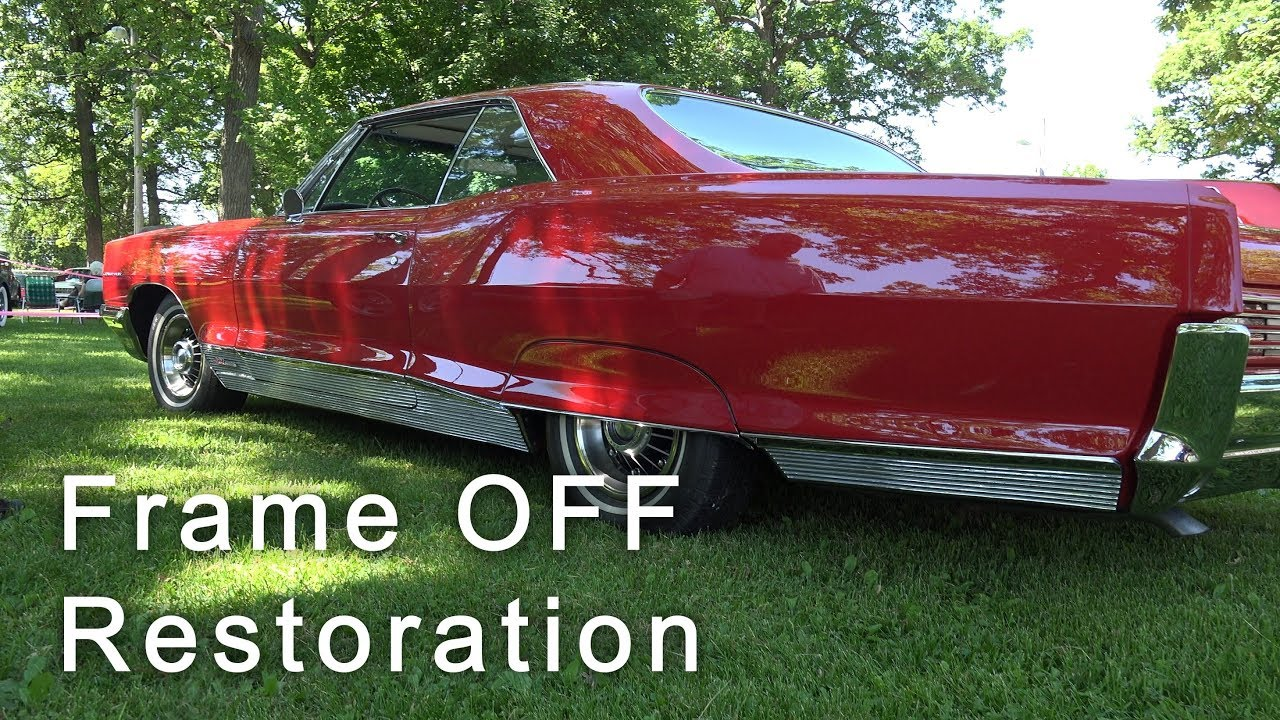 how to do a complete frame off restoration