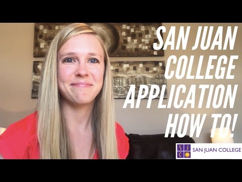 San Juan College Application How-To