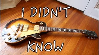 5 things i didnt know about my les paul