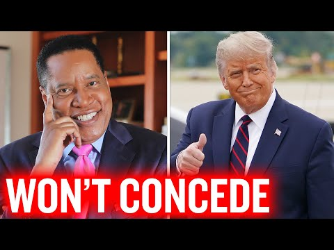 Media Angry Because Trump Won't Concede, Accused Of Sabotaging Biden  | Larry Elder