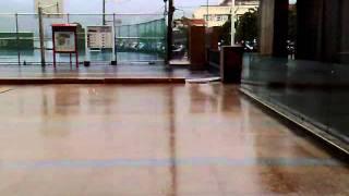 奈格颱風共伴效應 文化大學拍