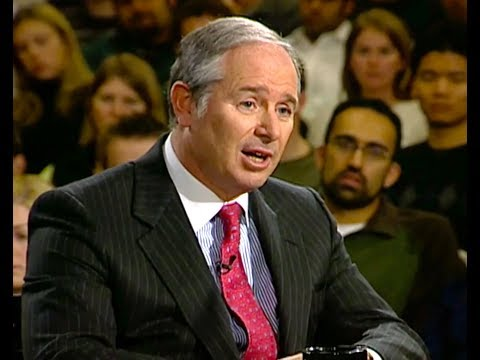Blackstone CEO Steve Schwarzman Interview Harvard Business School (2005)