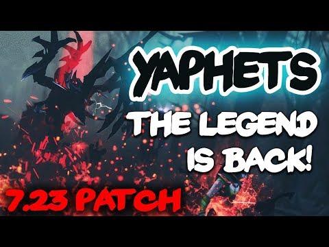 YaphetS Shadow Fiend Legend From DotA Allstars Testing NEW SF With Shadow Blade Build 7.23 Dota 2