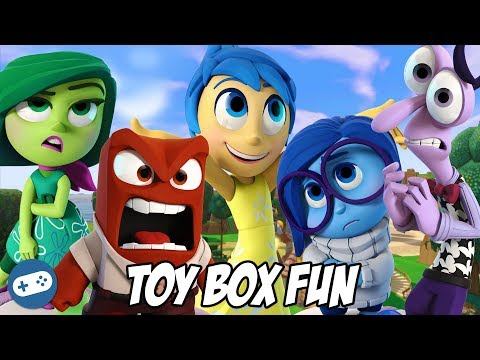 Inside Out Disney Infinity 3.0 Toy Box Fun Gameplay