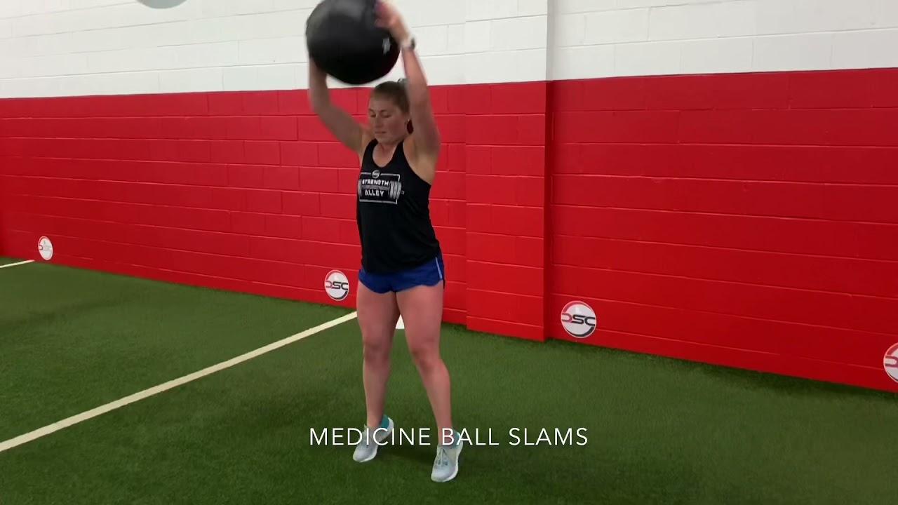 Medicine Ball Slams