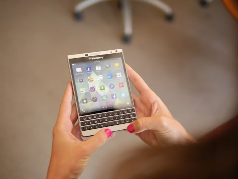 BlackBerry Passport Silver Edition hands-on
