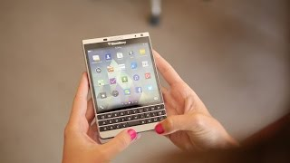 BlackBerry Passport Silver Edition hands-on