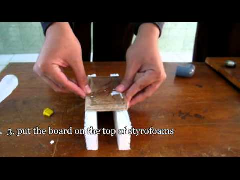 Physics Experiment - Applied Physics Concept on a Boat.avi