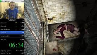 ILLEGAL SPEEDRUN Silent Hill 2 500% Speed in 17:23