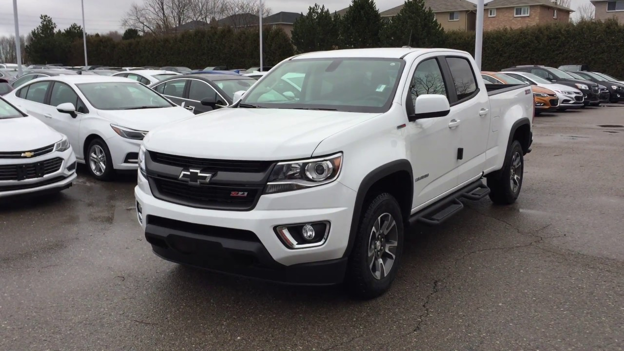2017 chevrolet colorado 4wd crew cab z71 summit white roy. Black Bedroom Furniture Sets. Home Design Ideas