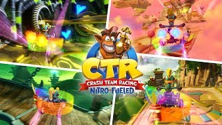 Crash Team Racing Nitro Fueled - All Shortcuts and Tricks