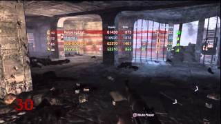 World at War Nacht Der Untoten Round 30+ w/ 4 players - Call of Duty Nazi Zombies