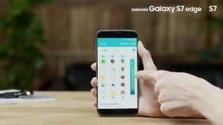 [Galaxy S7 edge | S7 Tutorial]  Como utilizar o ecrã edge do Samsung Galaxy s7 edge