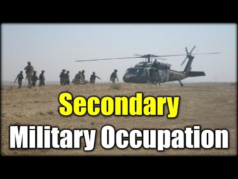 How to get a Secondary Military Occupation (MOS)