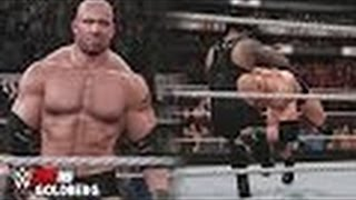 WWE 2K16 Goldberg Entrance, Signature & Finisher!