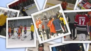 blind hockey for veterans