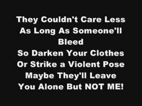 My Chemical Romance - Teenagers (Lyrics!)
