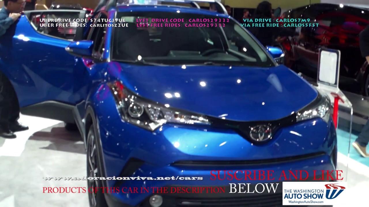 2019 Toyota C Hr Blue Washington Dc Auto Show 2018 Youtube