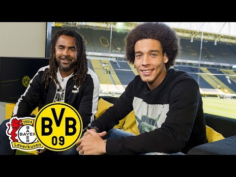 How long have you had that haircut? | Axel Witsel joins Matchday Magazine | Bayer Leverkusen - BVB