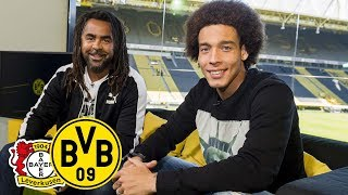 How long have you had that haircut? | Axel Witsel joins Matchday Magazine | Bayer Leverkusen - BVB Video