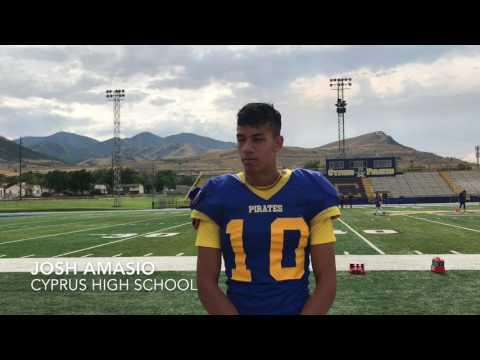 Josh Amasio, Cyprus High School