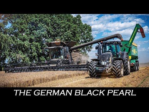 The German Black Pearl 🇩🇪 - Großmähdrescher mit 647 PS ▶ Agriculture Gemanyy