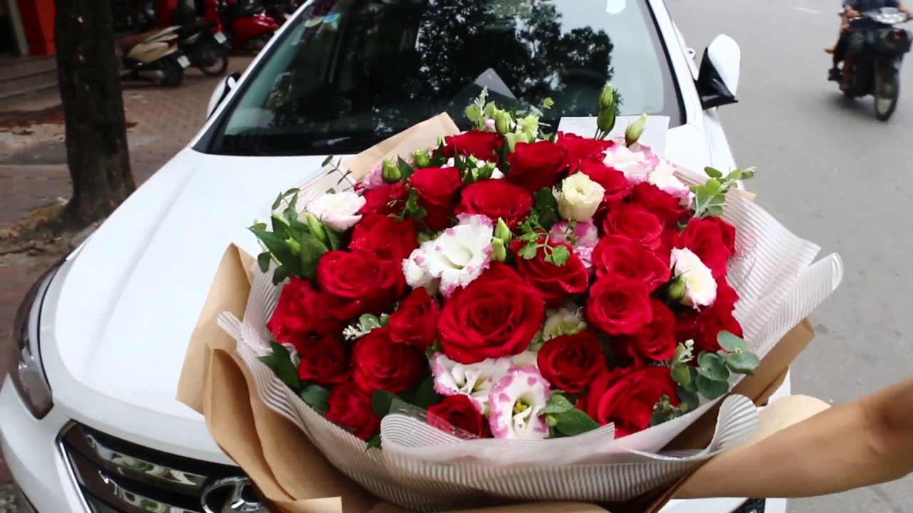 Beautiful love flowers for girlfriend floristhanoi youtube beautiful love flowers for girlfriend floristhanoi izmirmasajfo