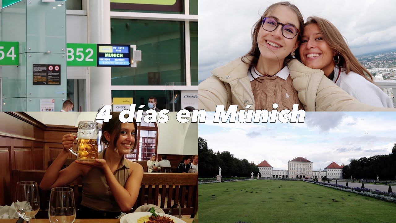 VLOG: 4 días en Múnich