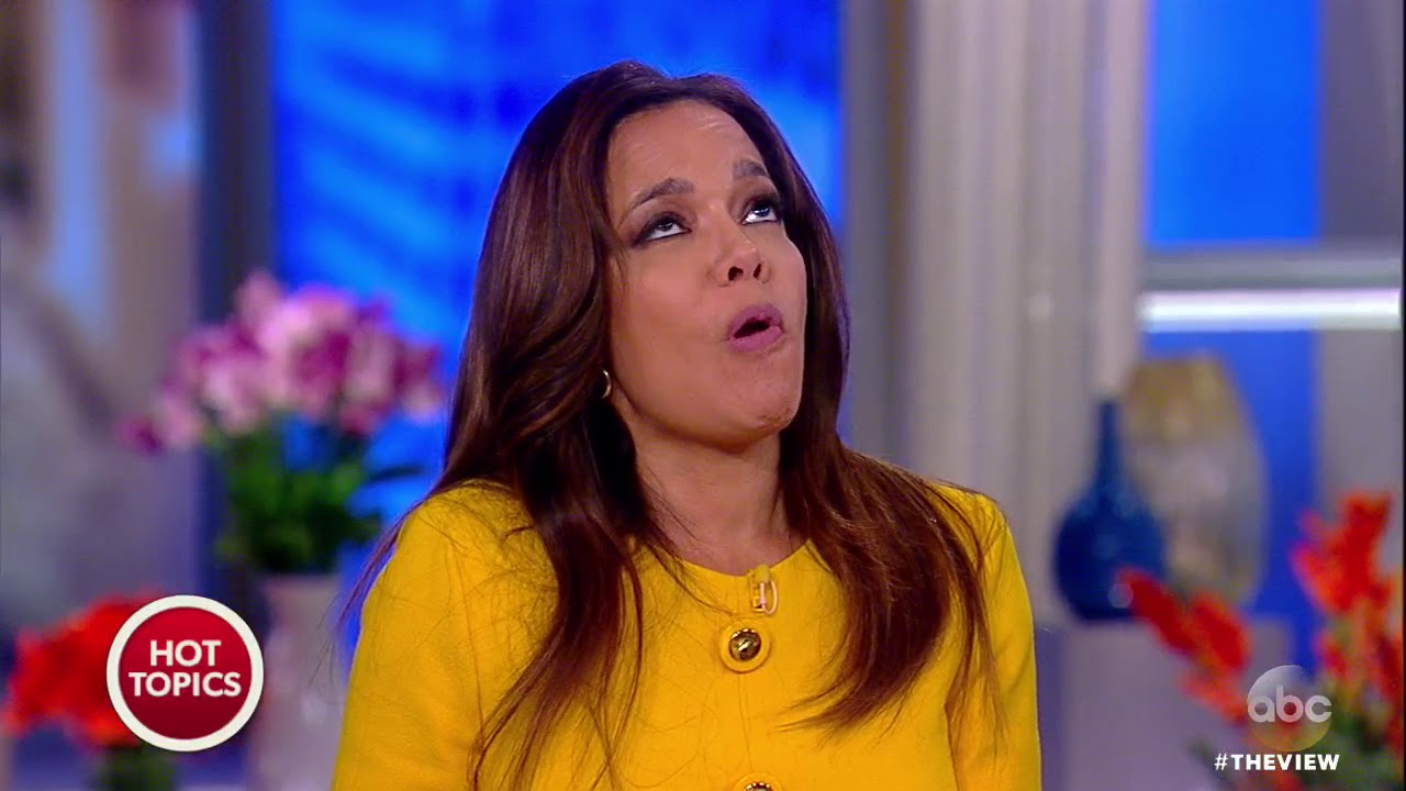 Sunny Hostin Does The 'One Chip Challenge' | The View ...