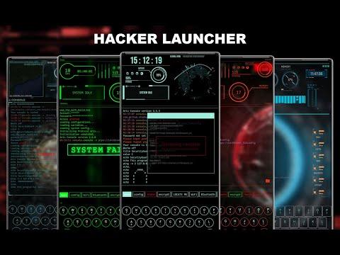 Hacker Launcher - Aris Themes