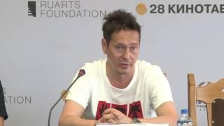 """Пресс-конференция конкурсного фильма """"Заложники"""""""