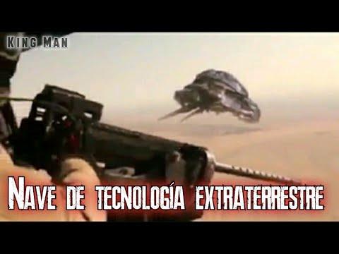 Nave de tecnología extraterrestre mostrada por tropas americanas en Afganistán