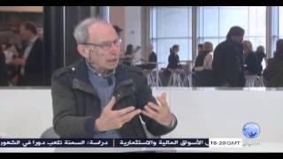 لقاء في أوروبا مع البرفسور اريك ديفيد استاذ القانون الدولي