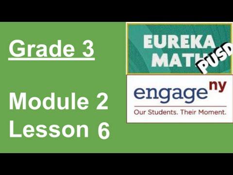 EngageNY Grade 3 Module 2 Lesson 6