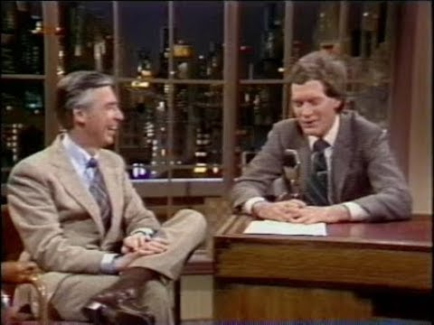 Mikey - Fred Rogers on Letterman, 1982