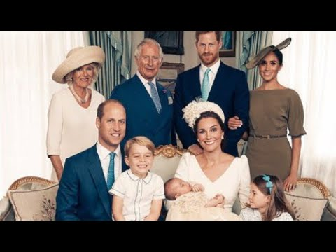 William & Catherine Release FOUR NEW Prince Louis Christening Photographs