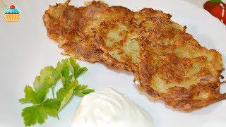 видео как приготовить драники из картошки