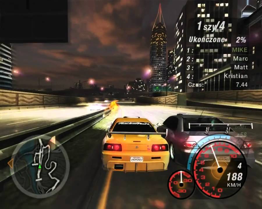 Need For Speed Underground 2 for PC Windows 7