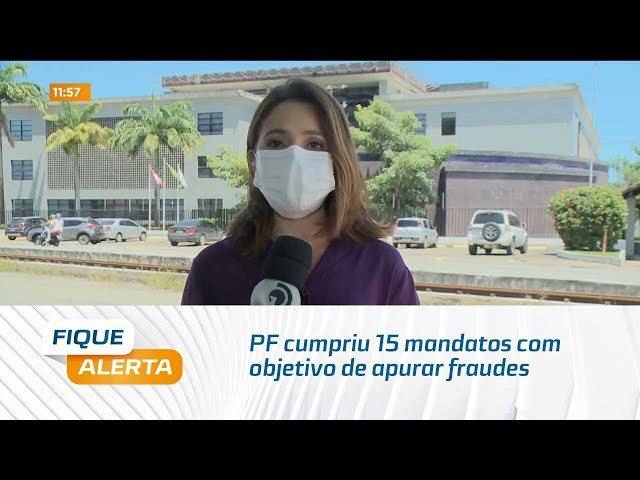 Pé de Barros: PF cumpriu 15 mandatos com objetivo de apurar fraudes na aquisição de medicamentos