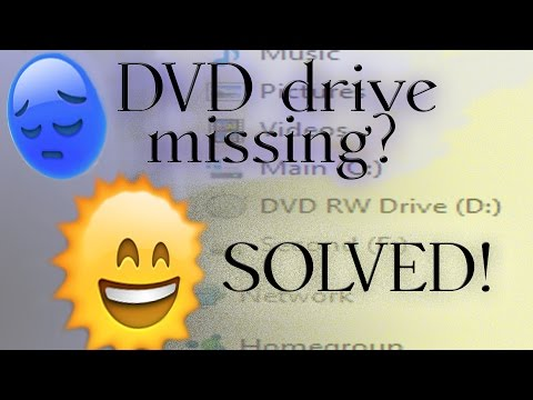 Windows 10 No DVD drive or NOT working 4 WAYS TO FIX!!