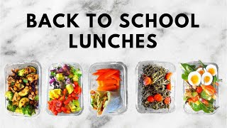 BACK TO SCHOOL LUNCH IDEAS! | HEALTHY & EASY | Conagh Kathleen