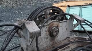 Останки экскаватора ЭКГ-8и