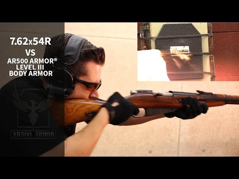 7.62x54R Tifecta vs. Body Armor! Incendiary, Silver-Tip, Surplus - Mosin Nagant & VEPR