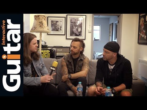 Bullet For My Valentine 2018 Tour Gear Breakdown Plus Interview With Matt And Padge