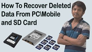 How To Recover Deleted Data From PC Mobile and SD Card