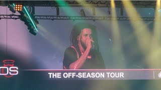 Jcole Off Season Tour Miami Feat 21 Savage \u0026 Morray Performance 2021