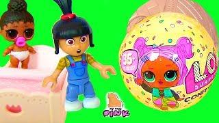 ЗОЛОТОЙ ШАРИК ЛОЛ! ФАБРИКА ЛОЛ! ДЕТСКИЙ САД - МУЛЬТИК LOL SURPRISE | My Toys Pink