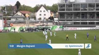 SpVgg Greuther Fürth II - Viktoria Aschaffenburg (Regionalliga Bayern 15/16, 31. Spieltag)