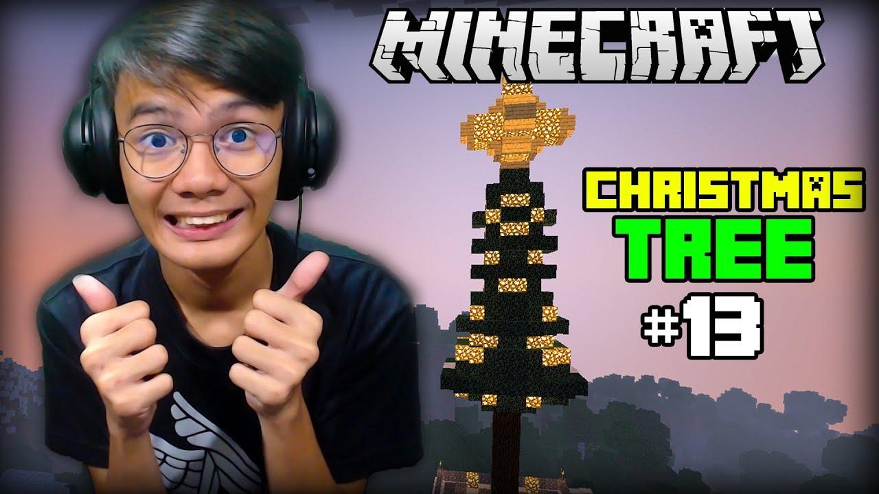 CHRISTMAS TREE | Minecraft Survival  (Christmas Edition) - Part 13