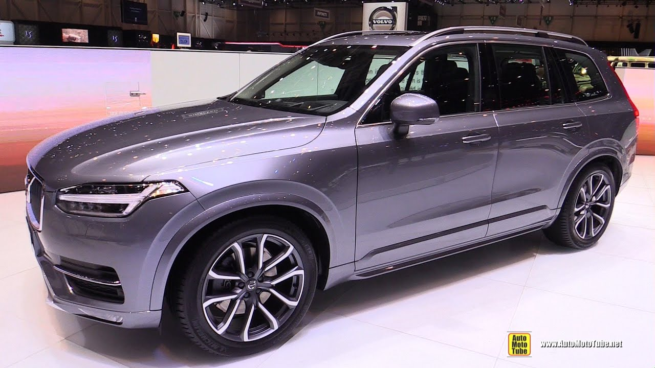 2015 volvo xc90 diesel d5 awd momentum exterior and interior walkaround 2015 geneva motor. Black Bedroom Furniture Sets. Home Design Ideas
